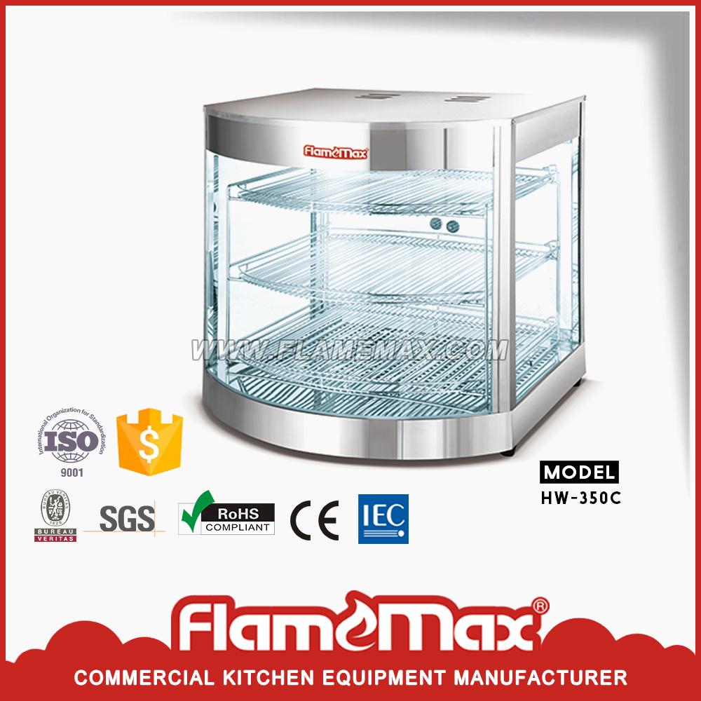 China Commercial Food Display Warmer/ Showcase (HW-350C) - China ...