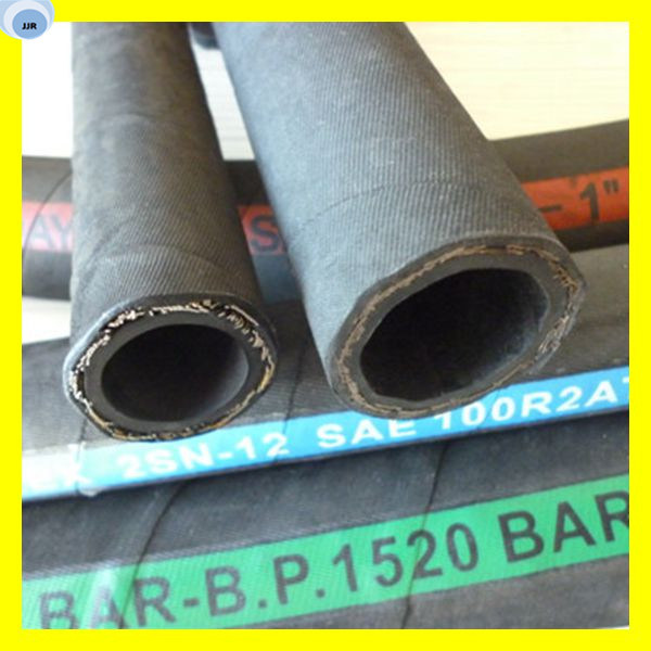 China Steel Wire Braided Rubber Hose Hydraulic Hose R1 - China ...