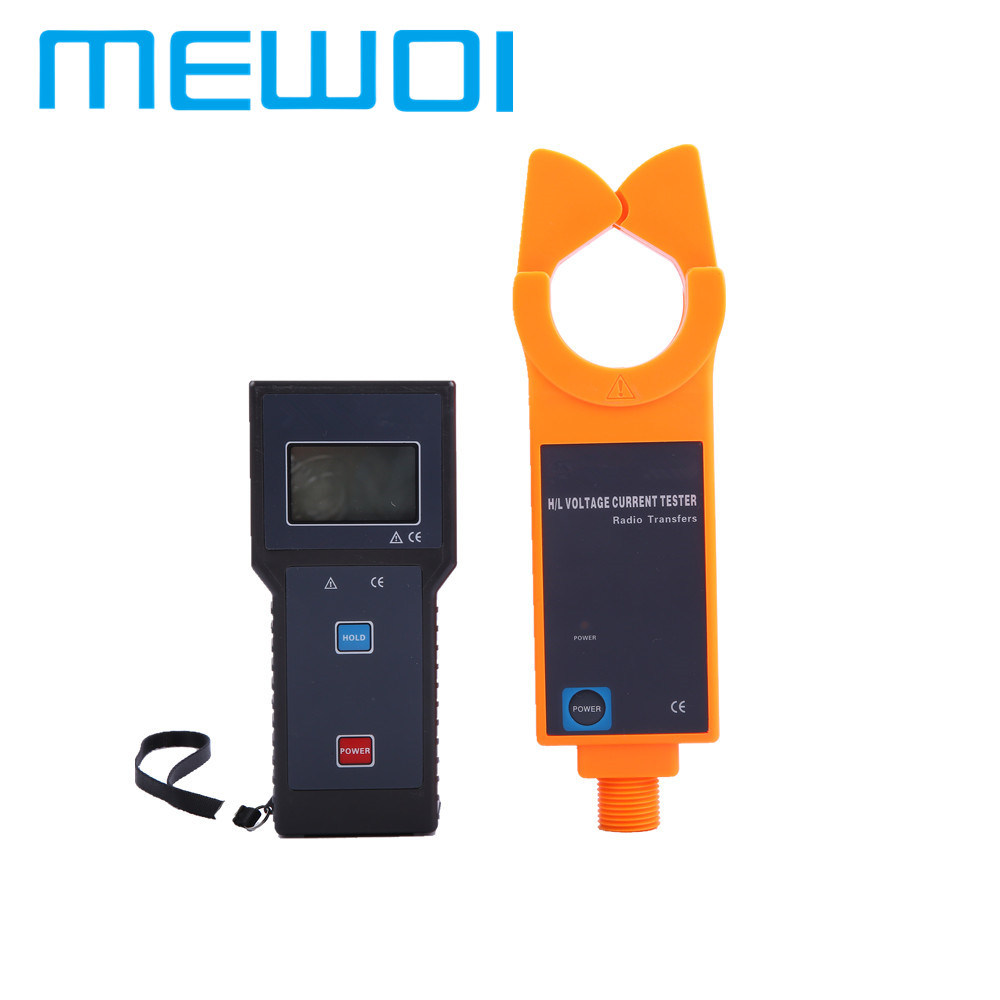 China Mewoi1000c Wireless High Voltage Current Clamp Meter Tester And H V