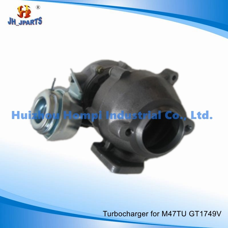 turbocharger for bmw x3 2 0d e83 e83n m47tu gt1749v 11657794144 750431 5013s