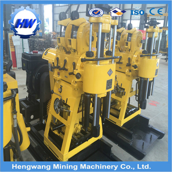 Hw160 Core Water Well Drilling Rig Equipment