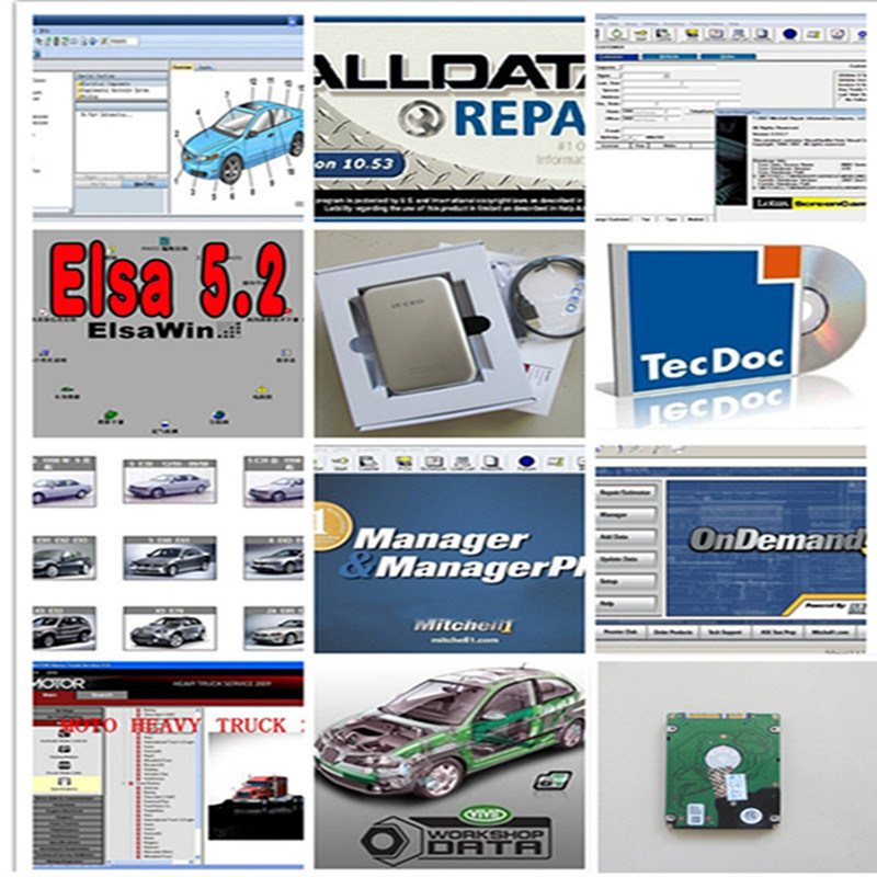 Mitchell Heavy Truck Auto Repair Software Mitchell ondemand5 Heavy Truck car Repair Information Service Manuals heavry Truck Color Gray Language English