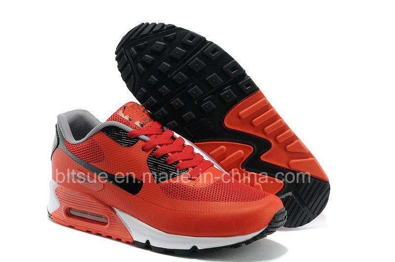 China Red Colour Sport Shoes for