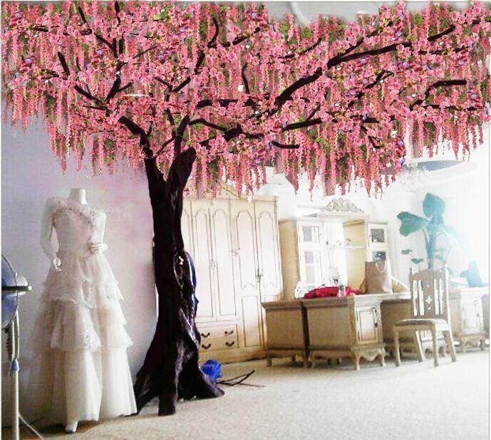 China Home Decoration 9f Artificial Cherry Blossom Tree Photos