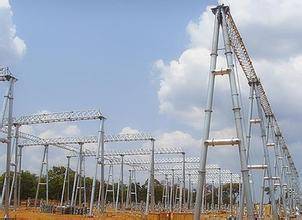 35kv Power Plant Steel Substation Structure