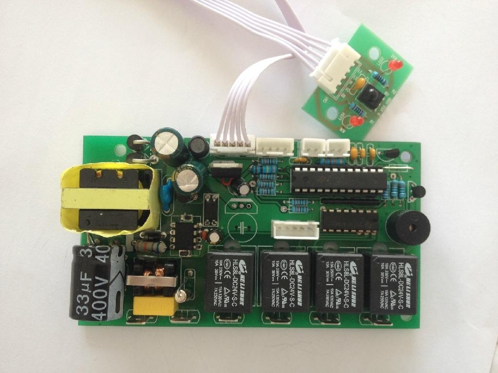 China Phone App Customed Printed Circuit Boards For Access Controls Electronic Fireplace Custom Electric Controller