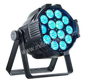 Hot Item 14pcs 15w Led Mini Par Lights Rgbw Stage Light Disco Party Narrow Beam F 1415 4a