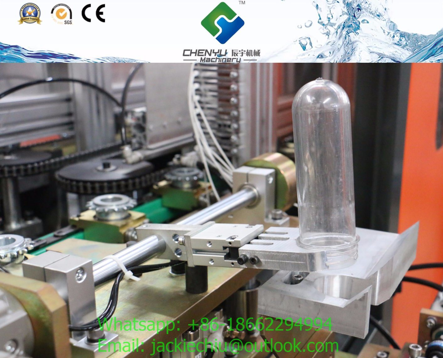 Polycarbonate Water Bottle Blowing Machine 5 Gallon pictures & photos