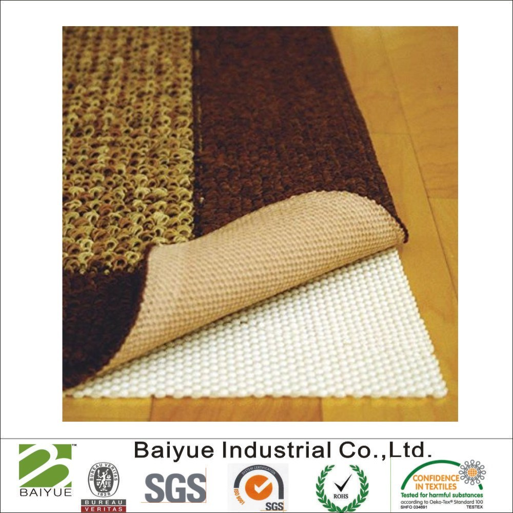 China Firm Hold Non Slip Rug Pad For