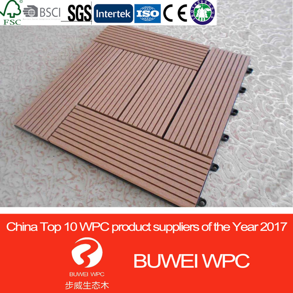 China Manufacturer Outdoor Diy Wpc Decking And Flooring Wood Plastic Composite