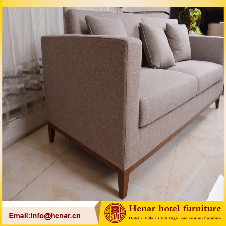 Outstanding Hot Item Wooden Fram 3 Position Linen Fabric Couch Sectional Sofa Theyellowbook Wood Chair Design Ideas Theyellowbookinfo