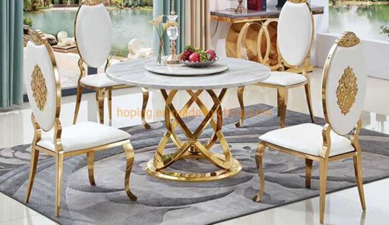 Round White Banquet Chair Living Room, Dining Room Chair Sets