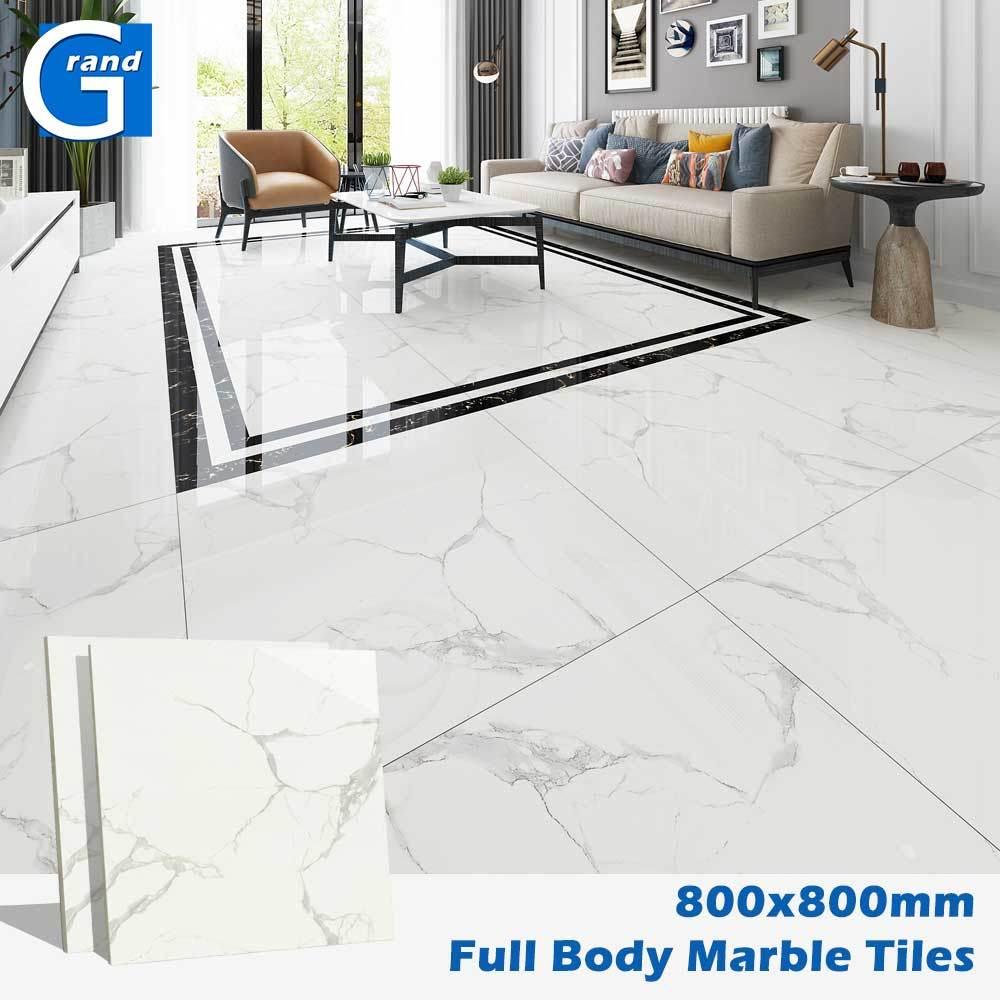Bathroom Natural Cararra White Marble