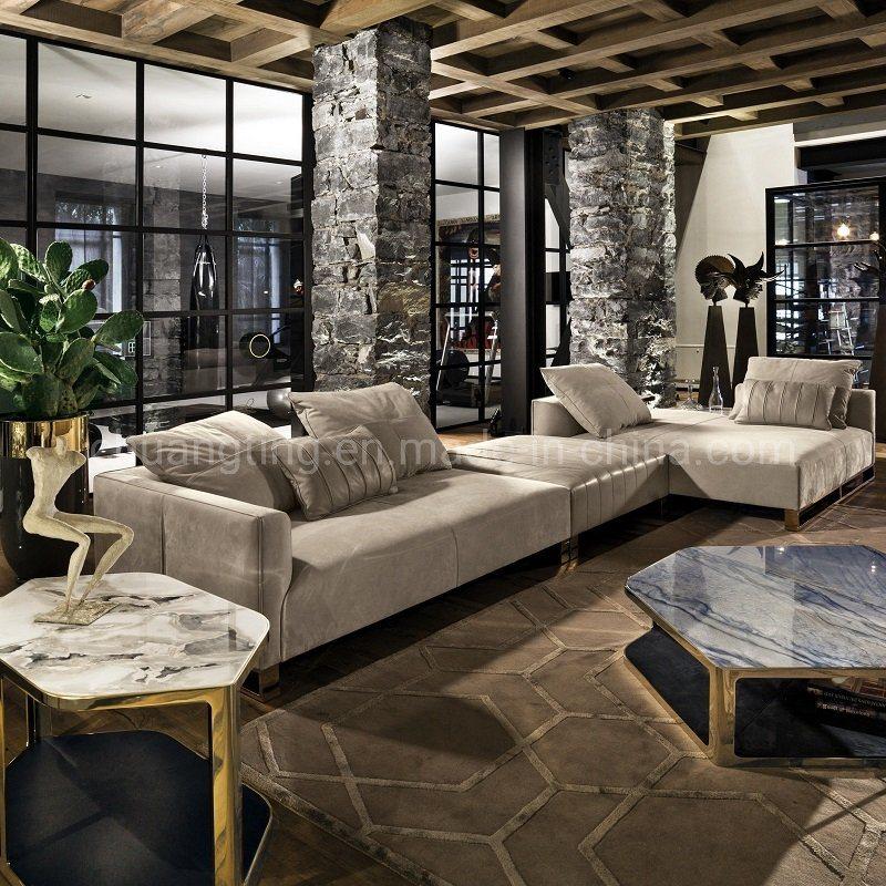 China American Style Modern Fabric Living Room Design Couch Velvet Sofa China Sofa Living Room Sofa