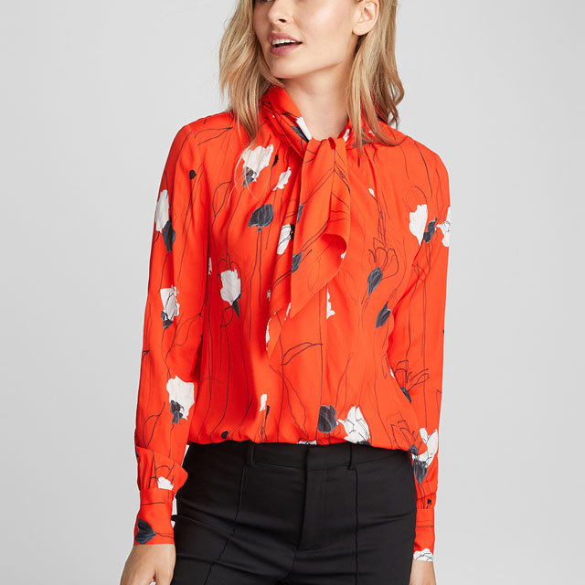Womans New Style Fashion Printing Blouse pictures & photos