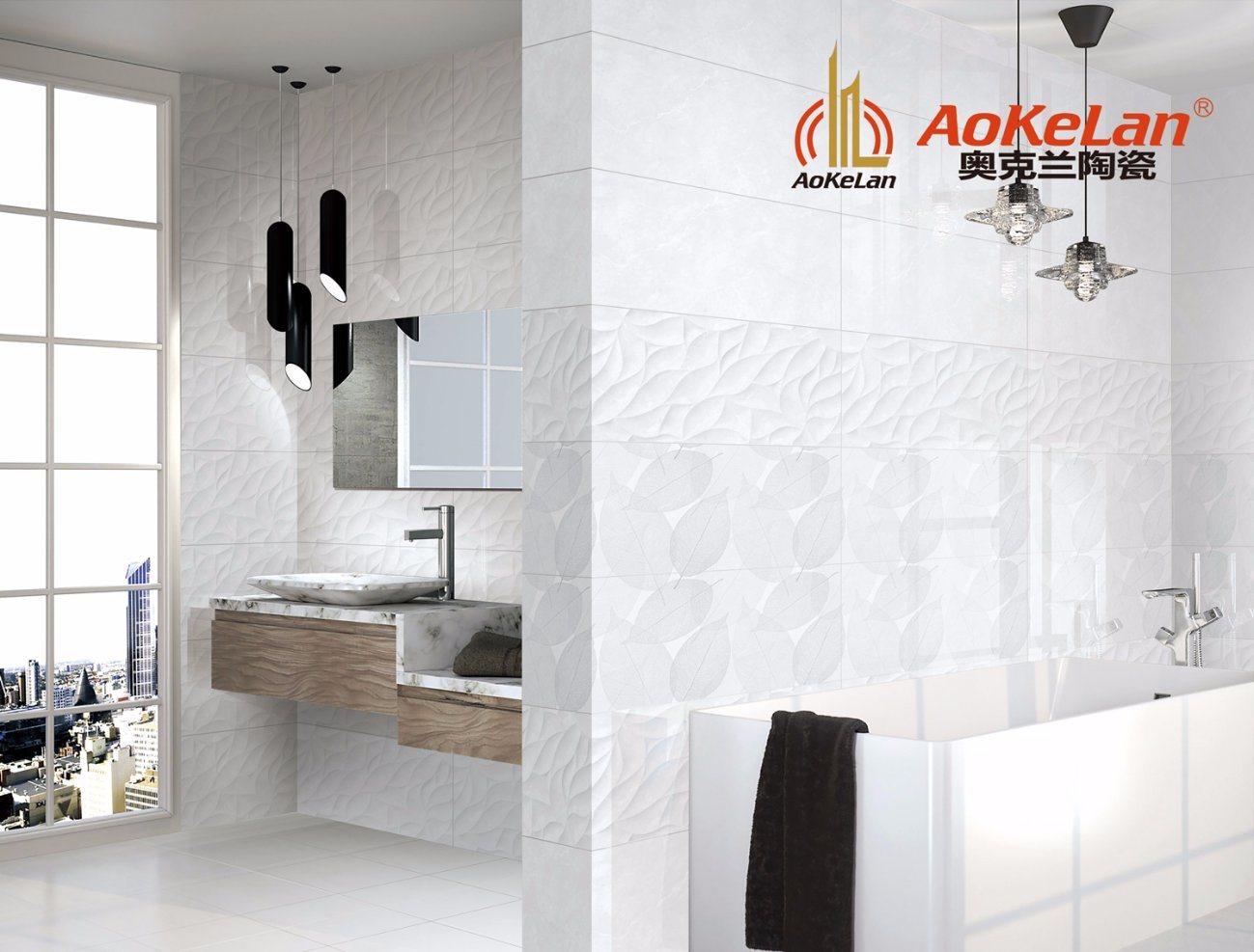 China Foshan 300*600mm Glazed Ceramic Wall Tile for Bathroom ...