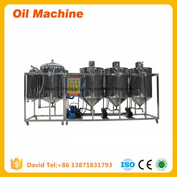 Agricultural Machinery Sunflower Seed Oil Refining Machine/Groundnut Oil Processing Machine pictures & photos