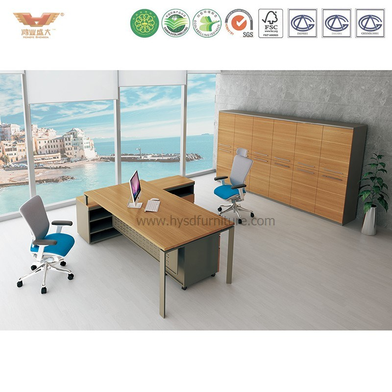 Modern Office Furniture L Shape Executive Desk (JOINER ED26) pictures & photos