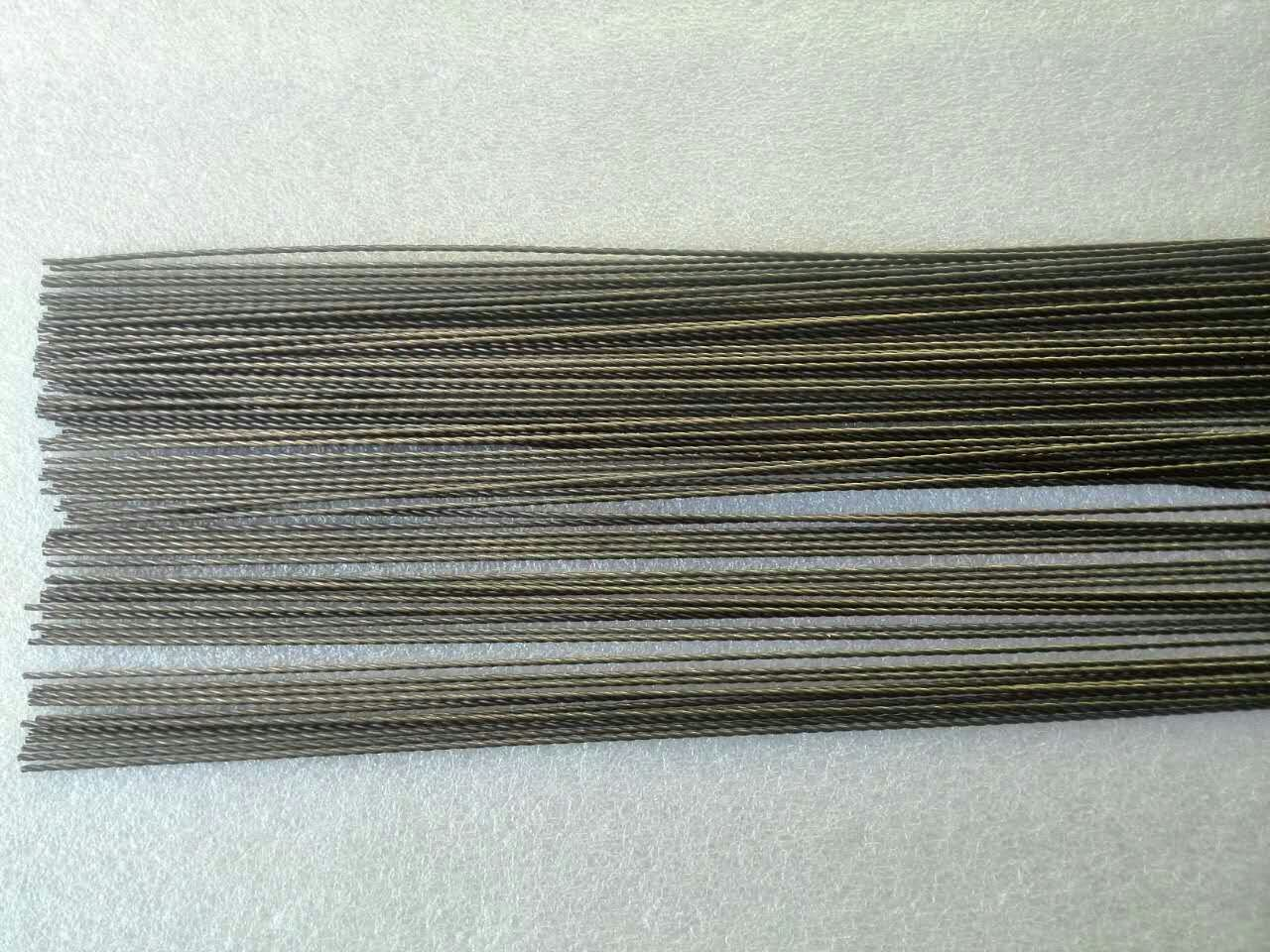 0.76mm Straight Tungsten Wire, Tungsten Filament Rope, Tungsten Stranded Wire pictures & photos