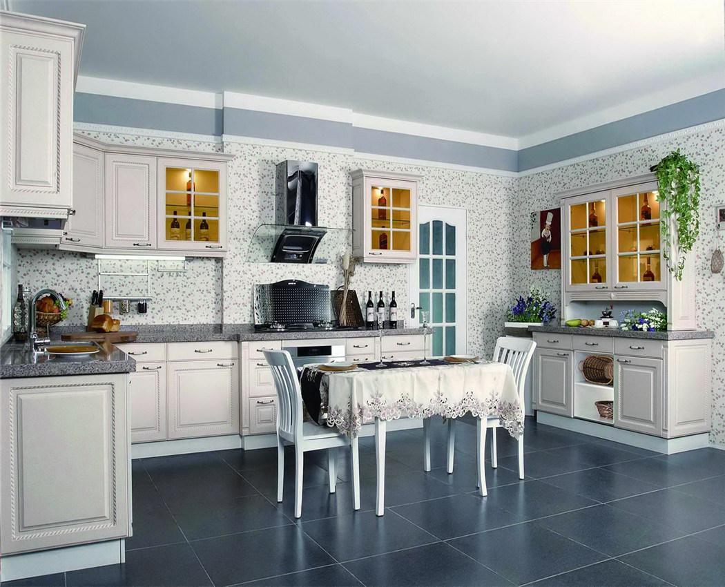 PVC Kitchen Cabinets Made in China (zs-230) - China Kitchen Cabinets ...