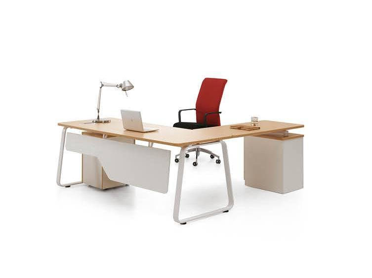 [Hot Item] High Quality Simple Design Cheap Office Furniture Desk for Sale  (BS-D9)