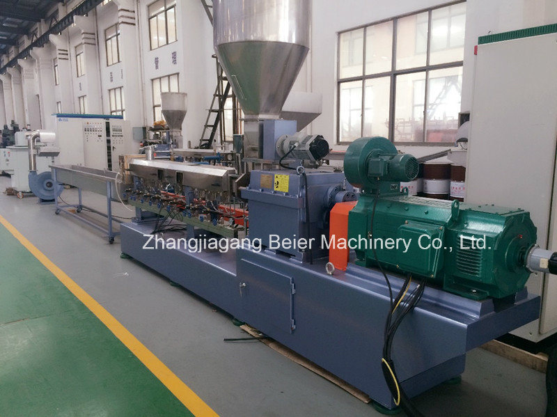 Plastic Compounding&Granulating Parallel Twin-Screw Extruder pictures & photos