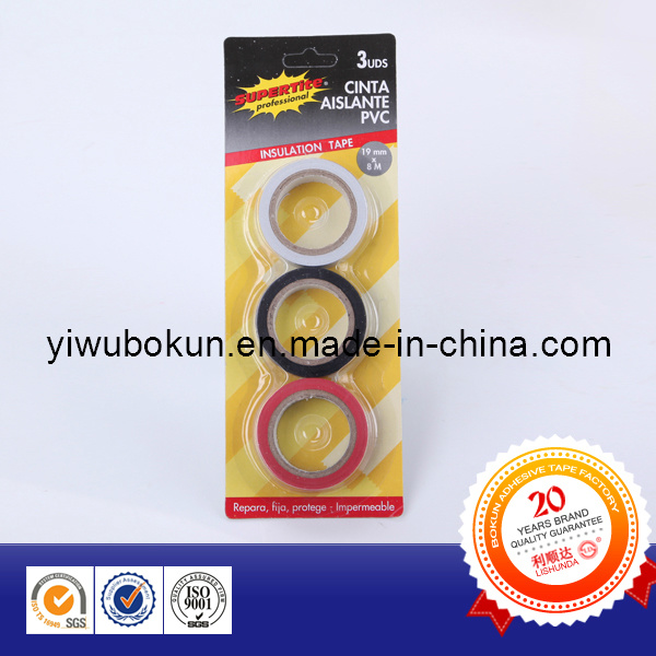 PVC Insulation Tape with Packing Box (BK) pictures & photos