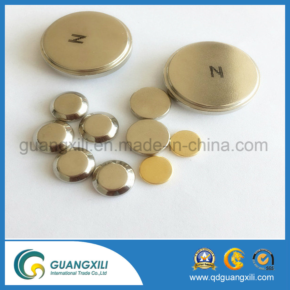N35~N52 Permanent NdFeB Neodymium Disk Magnet for Motor pictures & photos