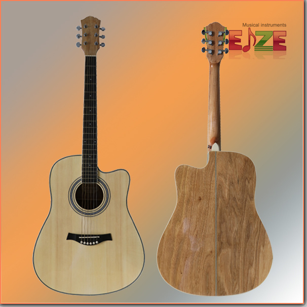 Hot Sale Spruce Catalpa Plywood Acoustic Guitar