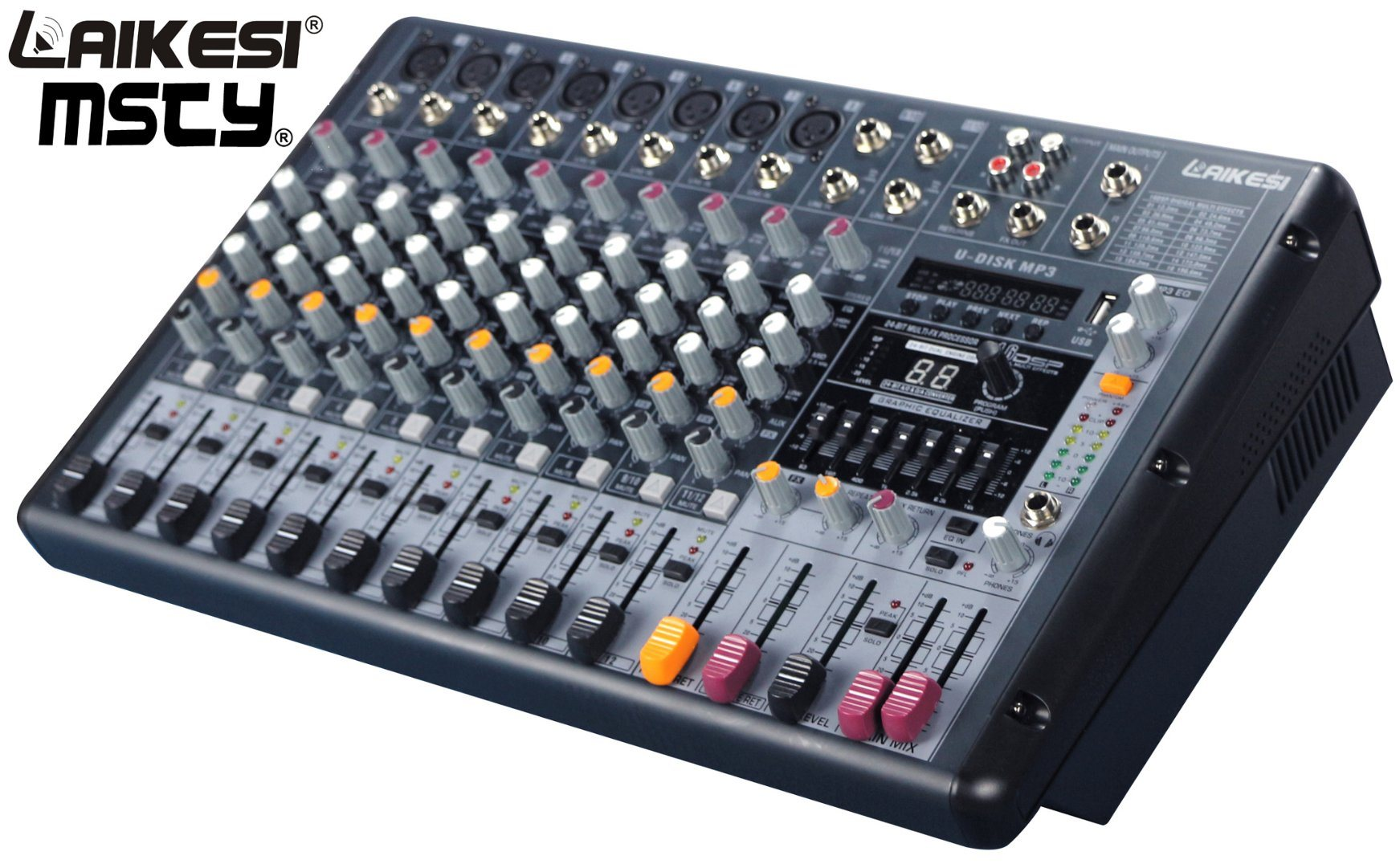 China 2017 New Fashinable Design Music Mixing Console for