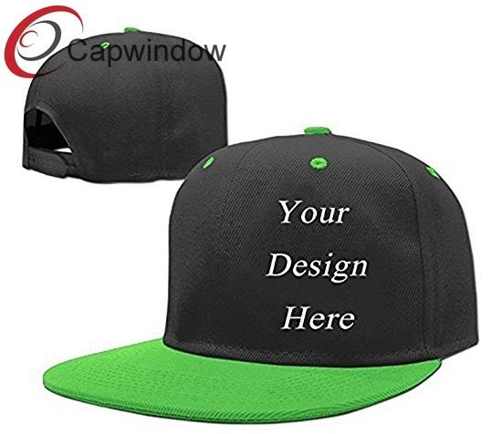 3d8f458b2f00c7 100% Acrylic Snapback Hat Baseball Cap with Custom Embroidery Logo Design