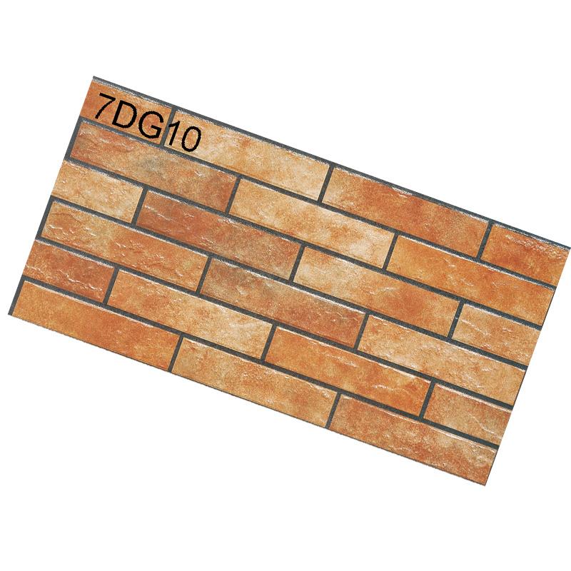 Hot Item 300x600mm New Design Ceramic Wall Tiles Outdoor Facing Brick Tiles