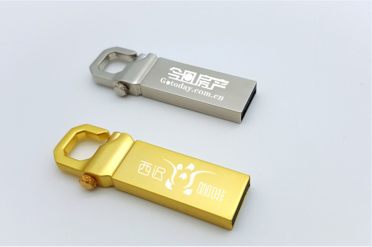 Gift Free Logo Metal Key USB 2.0 USB 3.0 Flash Disk pictures & photos