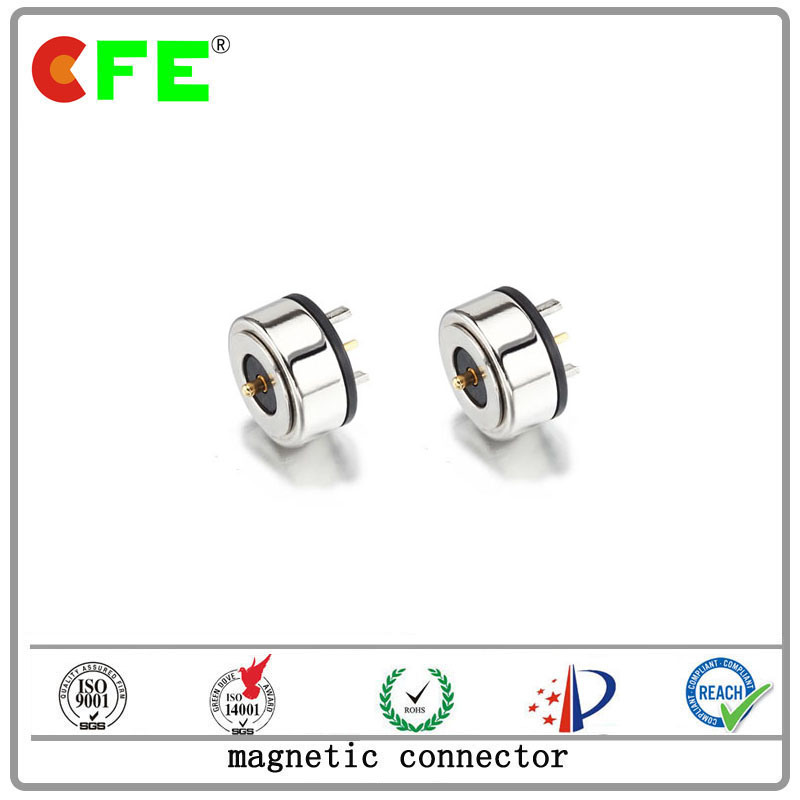 Customized 1pin Magnetic Connector for Visible Crab Clamp