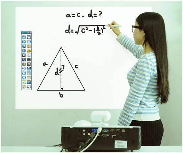 Electronic Interactive Whiteboard Portable Easy Installation