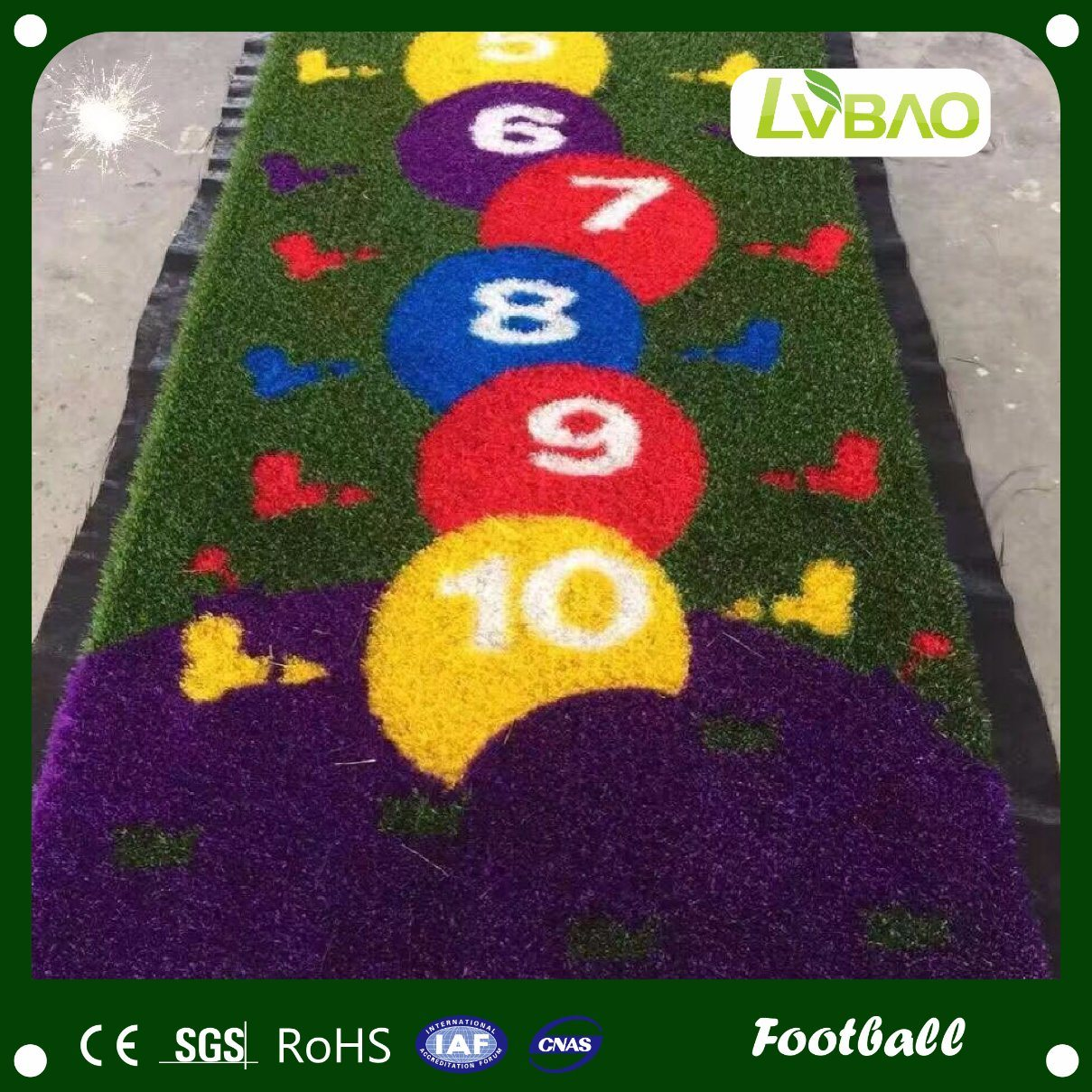 Environmental Friendly Durable High Quality Artificial Outdoor Grass Carpet pictures & photos