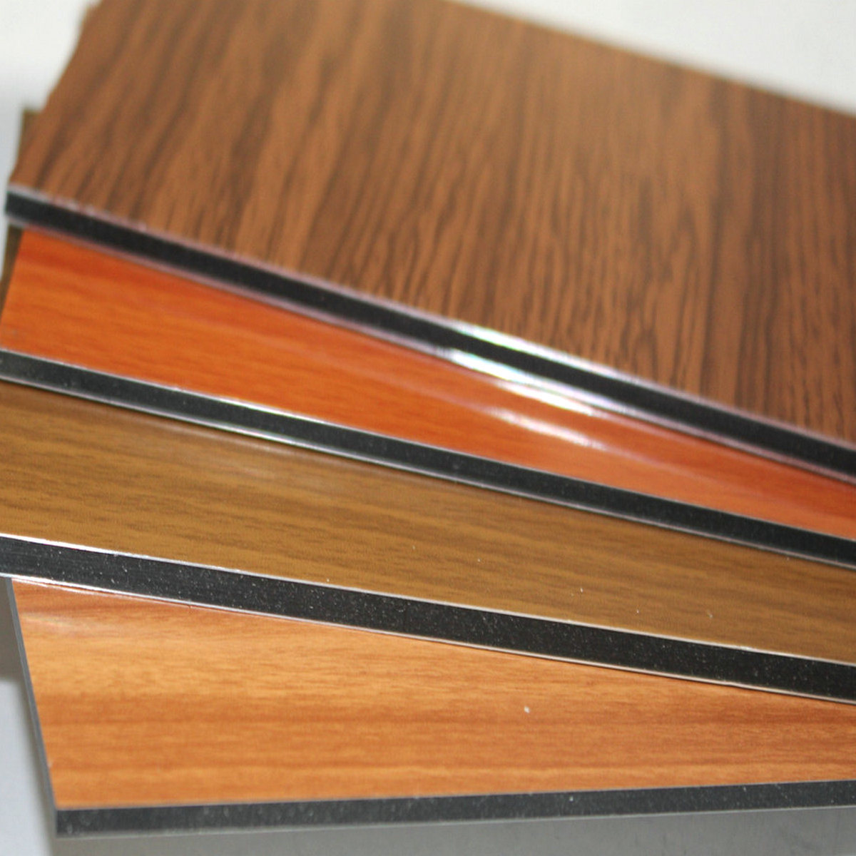 Standard Size Acp Textures Sheet Pvdf Aluminium Composite