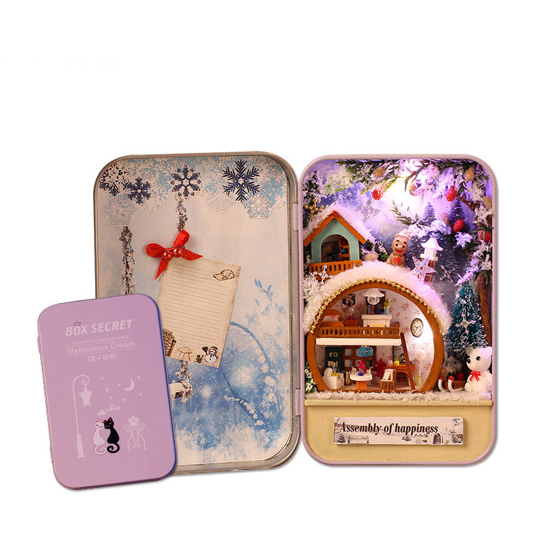 China 2018 for Kids Christmas Gifts Tin Box for Toys Child - China ...