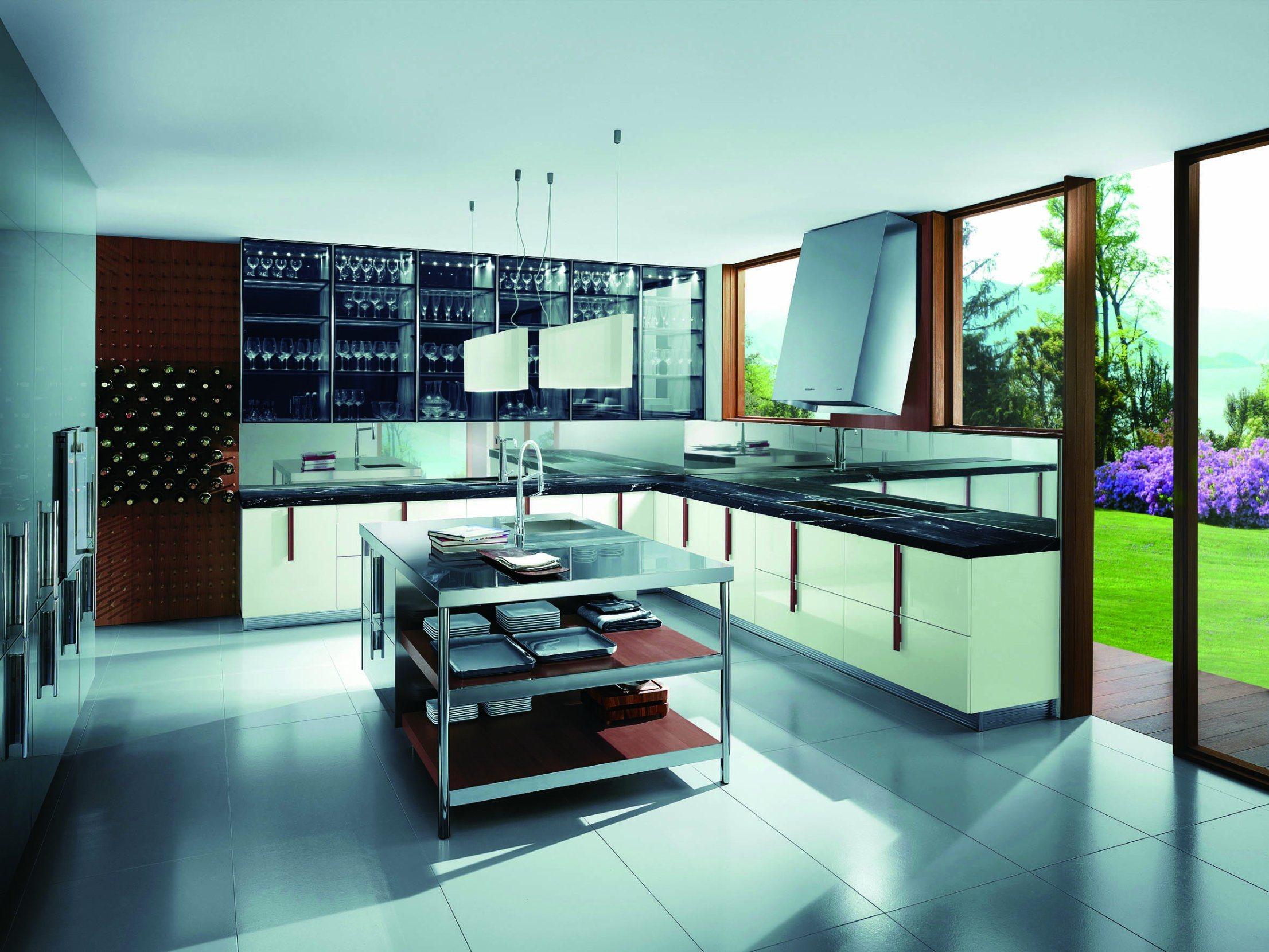 China Australia Style White Color L Type Kitchen Furniture Home ...