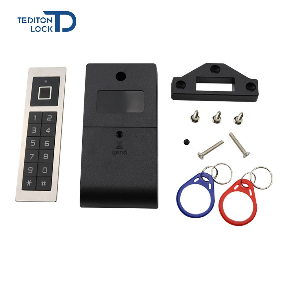 Metal Smart Fingerprint Cabinet Lock Locker Lock Furniture Lock