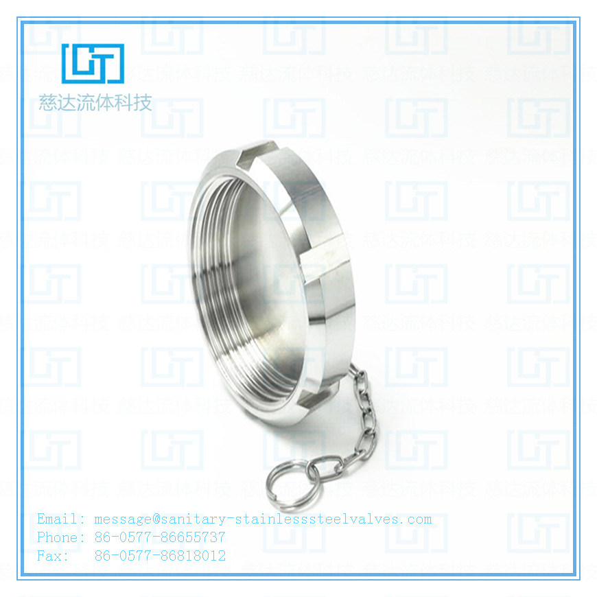 China SMS Standard Sanistay Stainless Steel Blind Nut with Chain
