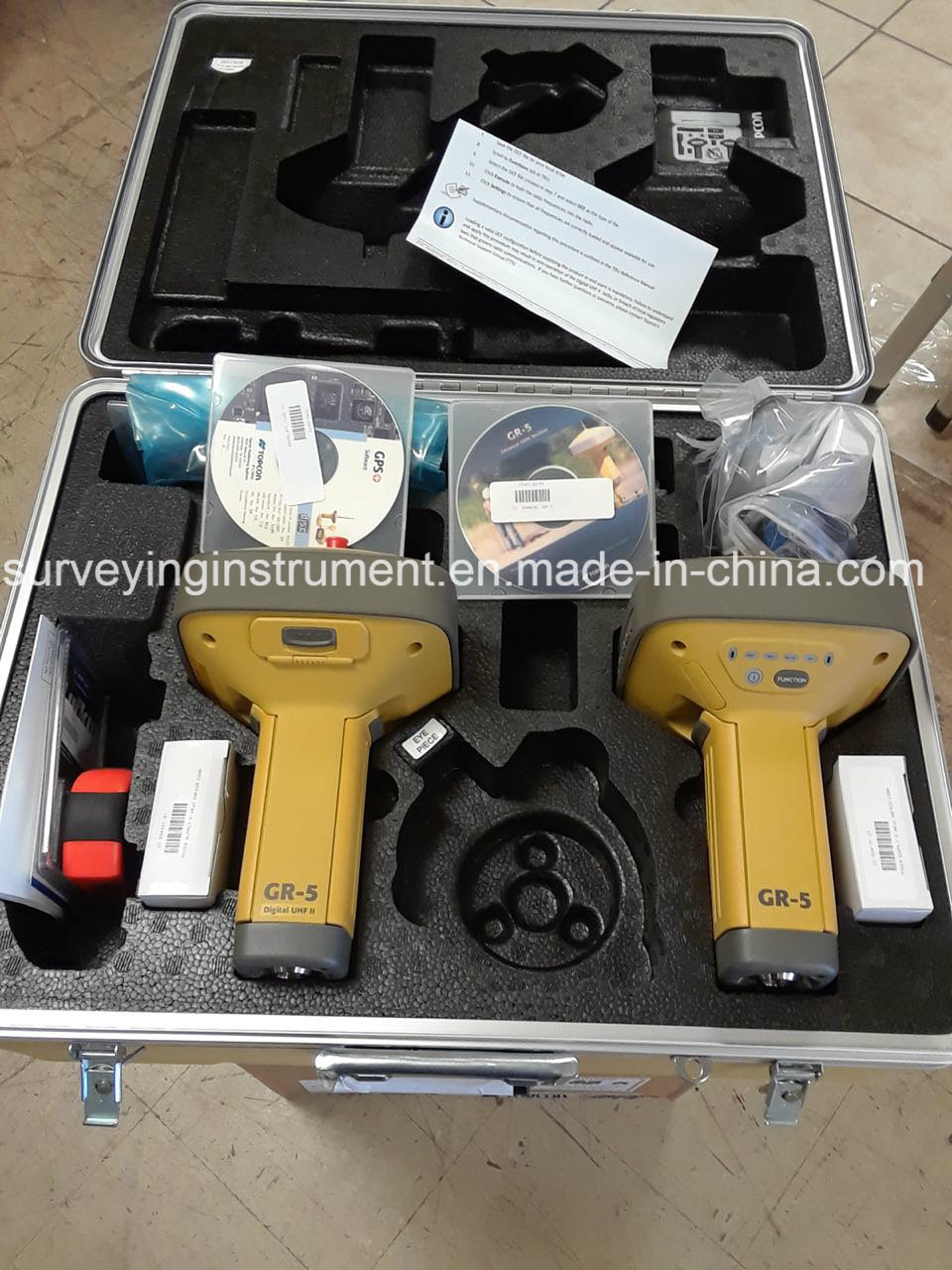 [Hot Item] Topcon Gr-5 Gnss Rtk System with FC5000 Field Computer