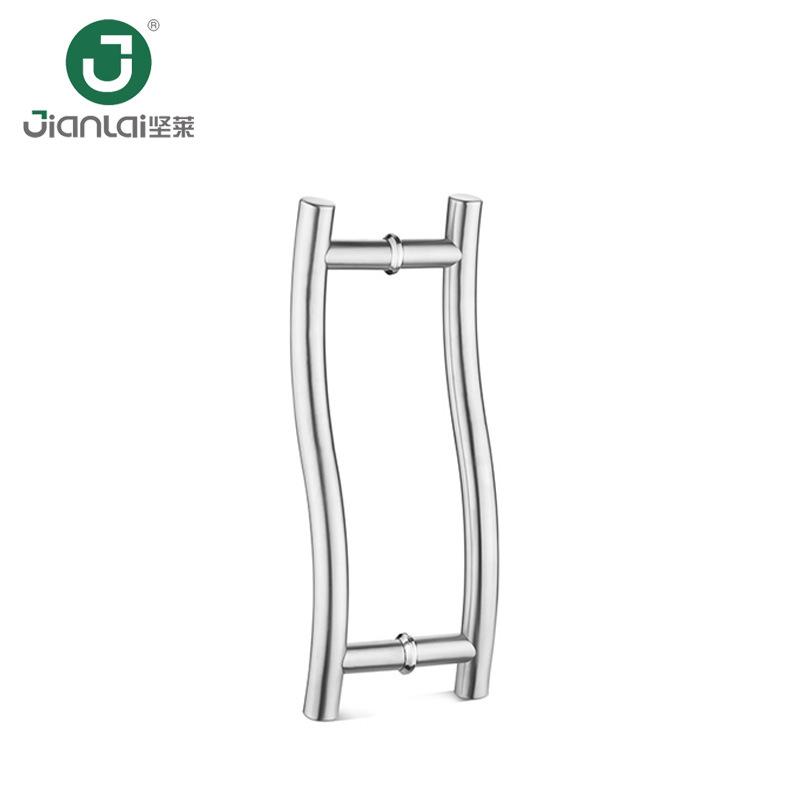 China High Quality Chrome Polished S Type Glass Door Handle China