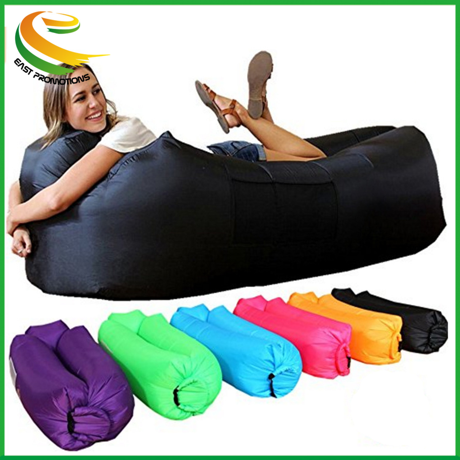 China Whole Inflatable Sofa Air Bed