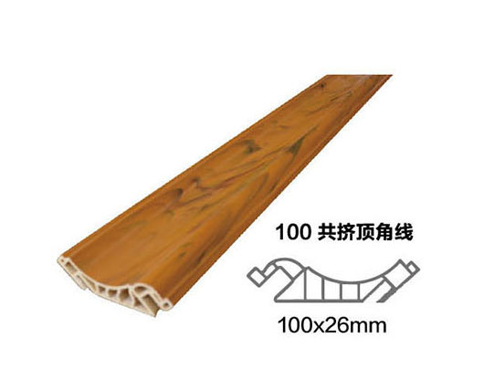 China Factory Supply Wpc Waterproof Wall Line Inside Corner Cornice Interior Moulding D32 Building Material Panel