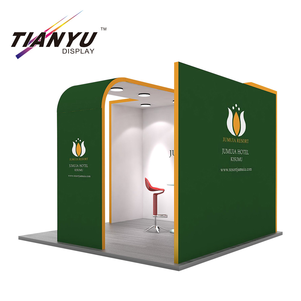 Exhibition Booth Stand : China aluminum extrusion standard modular shell scheme trade