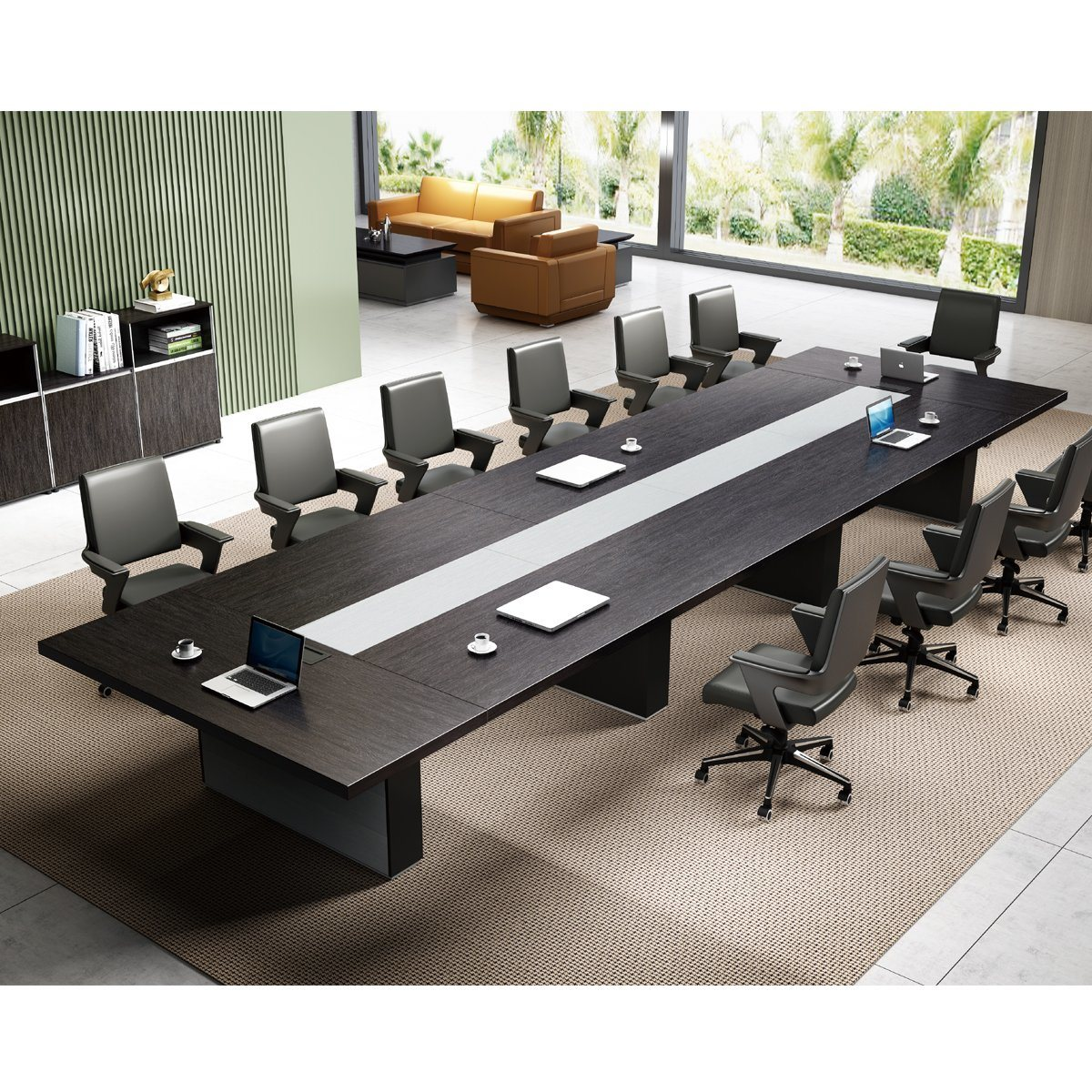 Picture of: China 10 Person Conference Table For Meeting Room China Conference Room Table Luxury Conference Table