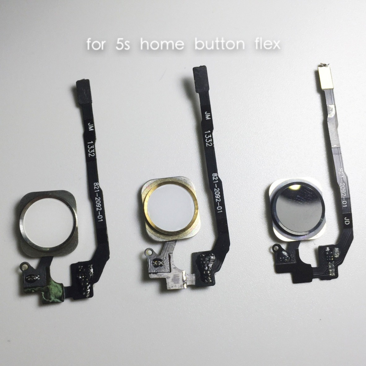 Mobile Phone Home Button Flex Cable for iPhone 5s