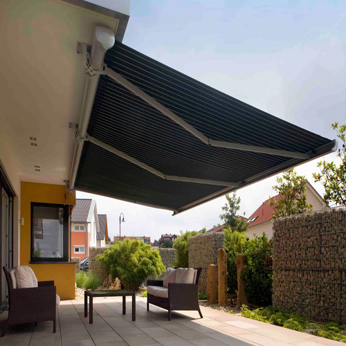 retractable awning motorized awnings