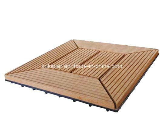 China Wpc Diy Flooring Tile Diy Interlocking Floor Tiles Decking